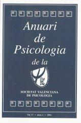 Anuari de Psicologia de la Societat Valenciana de Psicologia